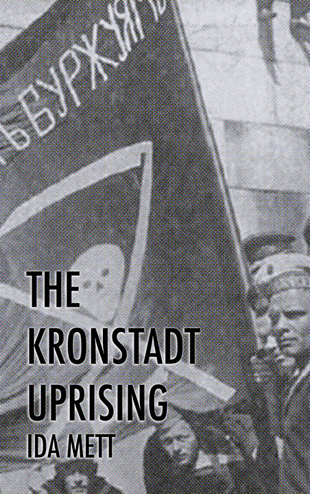 Book cover - The Kronstadt Uprising